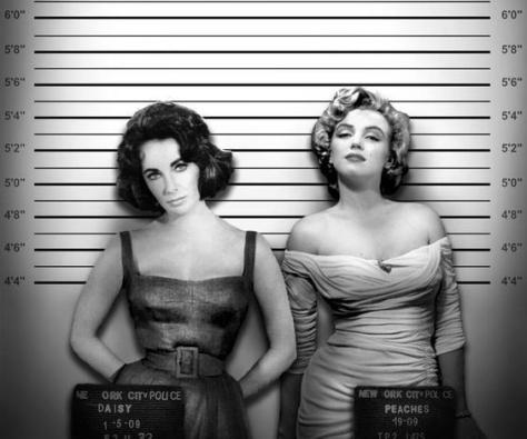 Elizabeth Taylor, Marilyn Monroe